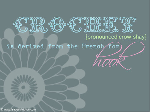 crochet avec moi by Lisa Pocklington, online crochet resource